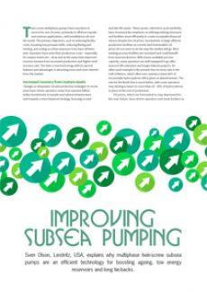 Improving Sub Sea Pumping