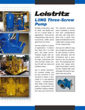 L3NG Three-Screw Pump