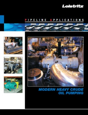 Pipeline Applications Modern Heavy Crude Oil Pumping