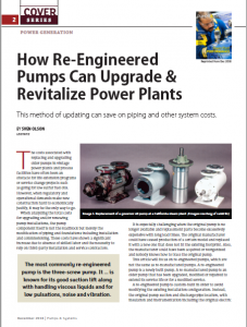 How Re-Engineered Pumps Can Upgrade & Revitalize Power Plants