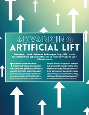 Advancing Artificial Lift